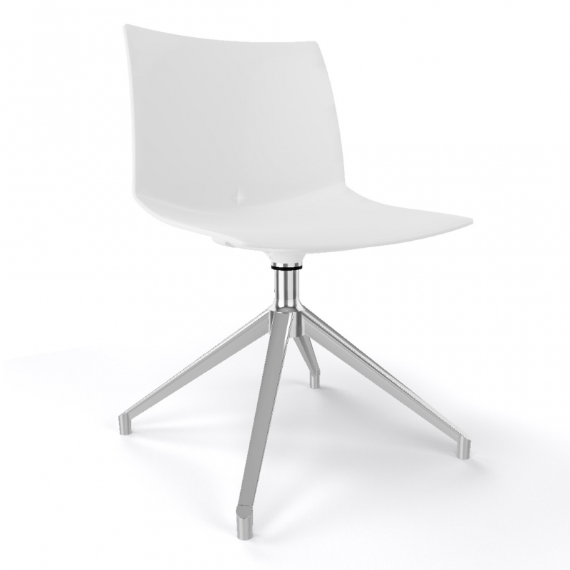 silla KANVAS 2 U color blanco