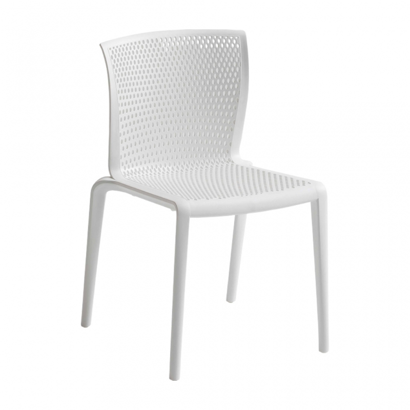 silla SPYKER color blanco