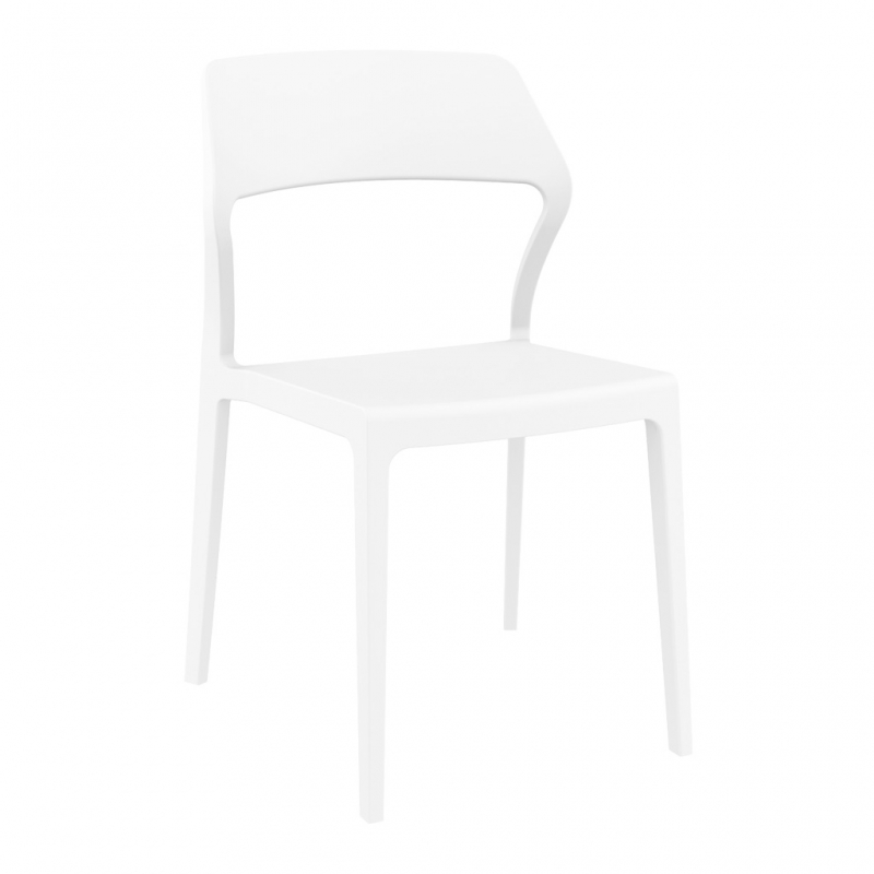 silla SNOW color blanco