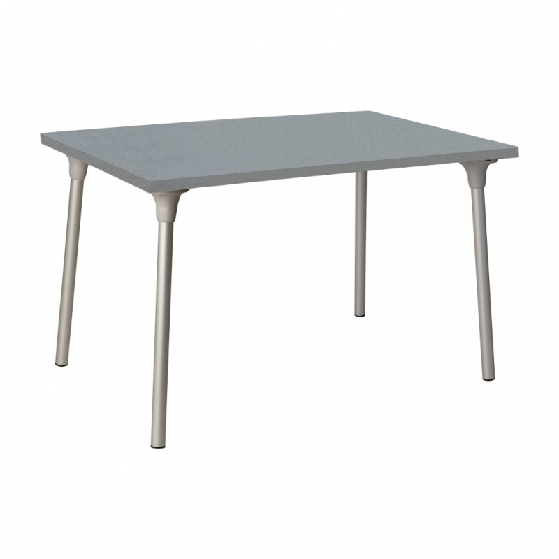 mesa RIPOLL con tablero rectangular color stratos