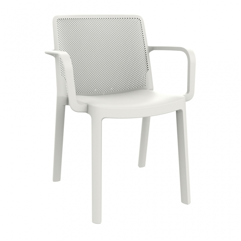 silla FRESH con brazos silla FRESH con brazos color blanco