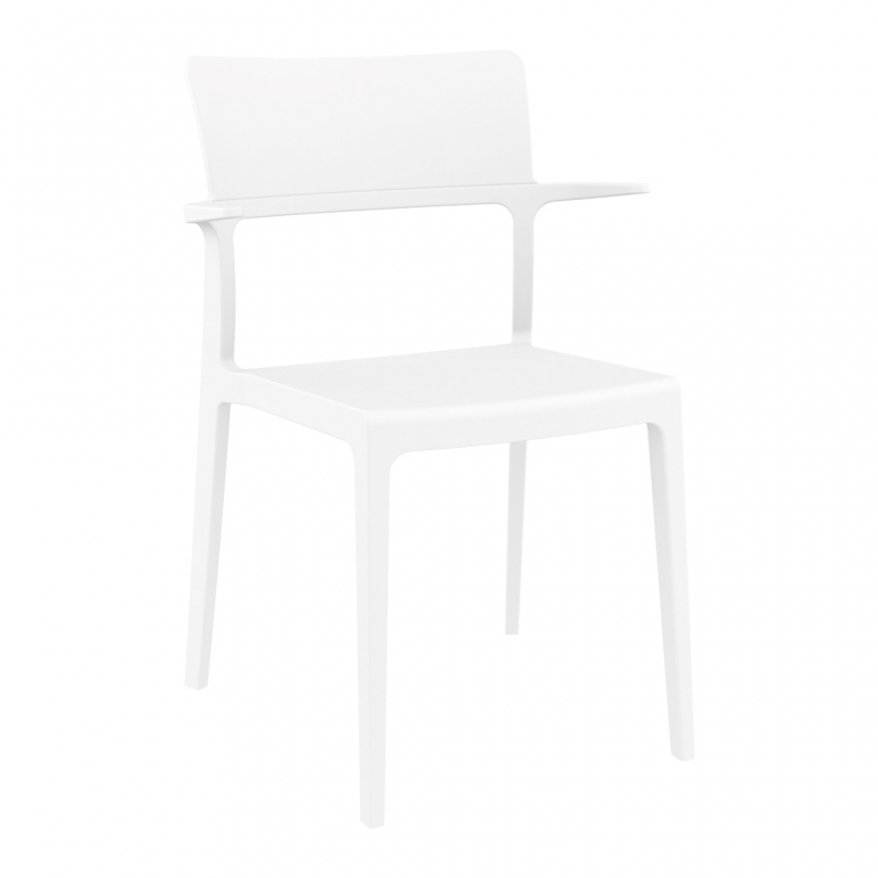 silla PLUS con brazos silla PLUS con brazos color blanco