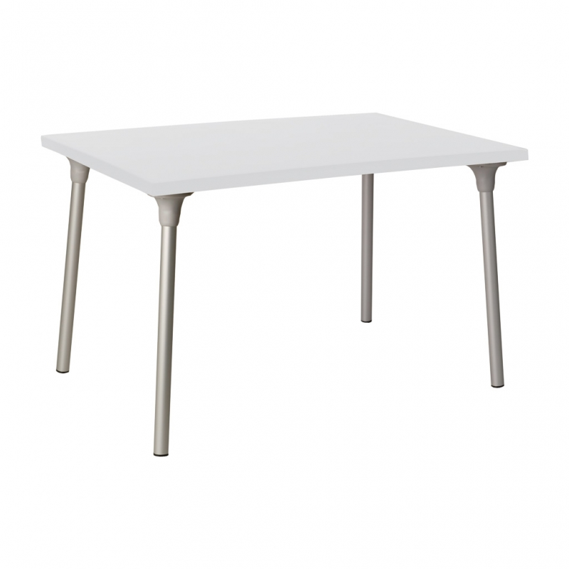 mesa RIPOLL mesa RIPOLL con tablero rectangular color blanco